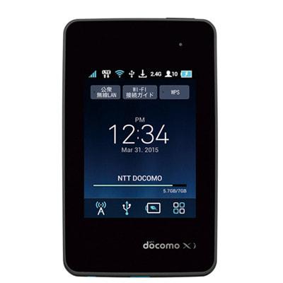 イオシス Wi-Fi STATION L-01G Black