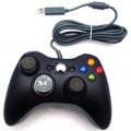 【Xbox配列で機能的】 PC用USB接続 ゲームパッド ブラック 【振動機能対応】