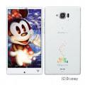 Disney Mobile on docomo SH-02G Sparkling White