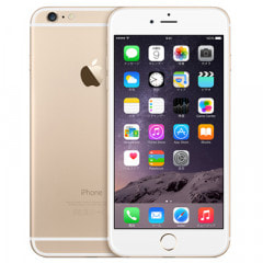 au iPhone6 Plus 64GB A1524 (MGAK2J/A) ゴールド