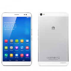 HUAWEI MediaPad X1 7.0 (7D-504L) Silver Back (White Panel) 【SIMフリー】