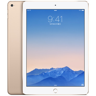 イオシス 【第2世代】au iPad Air2 Wi-Fi+Cellular 16GB ゴールド MH1C2J/A A1567
