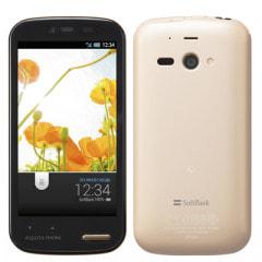 SoftBank AQUOS PHONE ss 205SH シャンパンゴールド