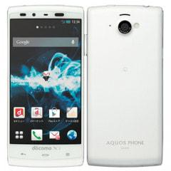 docomo AQUOS PHONE si SH-07E White