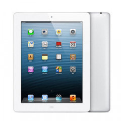 【第4世代】au iPad4 Wi-Fi+Cellular 32GB ホワイト MD526J/A A1460