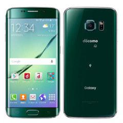 docomo GALAXY S6 edge SC-04G Green Emerald