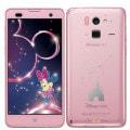 Disney Mobile on docomo F-07E Light Pink