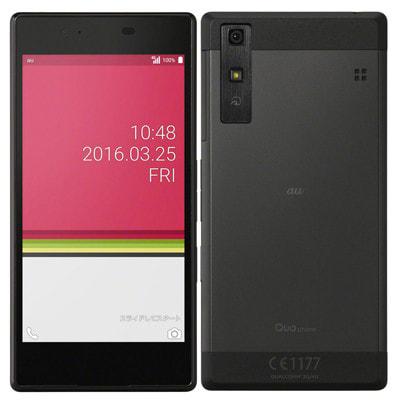 イオシス au Qua phone KYV37 BLACK