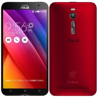 イオシス|【再生品】ASUS ZenFone2 (ZE551ML-RD32S4) 32GB Red 【RAM4GB 国内版 SIMフリー】