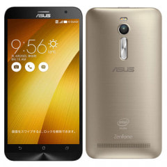 【再生品】ASUS ZenFone2 (ZE551ML-GD32S4) 32GB Gold【RAM4GB 国内版 SIMフリー】